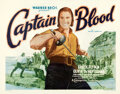 Movie Posters:Adventure, Captain Blood (Warner Bros.- First National, 1935). Very G...