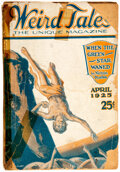 Pulps:Horror, Weird Tales - April 1925 (Popular Fiction) Condition: FR....