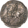 "Ireland, Ireland: James II silver Proof Restrike ""Gunmoney"" Crown 1690-Dated PR65 NGC,..."