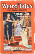 Pulps:Horror, Weird Tales - October 1927 (Popular Fiction) Condition: FN....