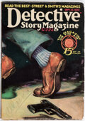 Pulps:Detective, Detective Story Magazine - September 13, 1930 (Street & Smith, 1930) Condition: VG/FN....