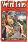 Pulps:Horror, Weird Tales - March 1929 (Popular Fiction) Condition: VG....