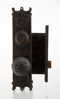 Metalwork, Louis H. Sullivan (American, 1856-1924). One Door Knob and Lock from the Wainwright Building, circa 1891, Adler & Sulliv...