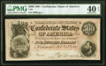 Confederate Notes:1864 Issues, T64 $500 1864 PF-2 Cr. 489 PMG Extremely Fine 40 EPQ.. ...