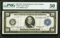 Large Size:Federal Reserve Notes, Fr. 987a $20 1914 Federal Reserve Note PMG About Uncirculated 50.. ...