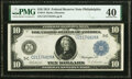 Large Size:Federal Reserve Notes, Fr. 914 $10 1914 Federal Reserve Note PMG Extremely Fine 40.. ...