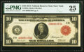 Large Size:Federal Reserve Notes, Fr. 893a $10 1914 Red Seal Federal Reserve Note PMG Very Fine 25.. ...