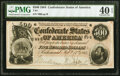 Confederate Notes:1864 Issues, T64 $500 1864 PF-2 Cr. 489 PMG Extremely Fine 40 EPQ.