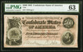 Confederate Notes:1864 Issues, T64 $500 1864 PF-2 Cr. 489 PMG Choice Uncirculated 63....