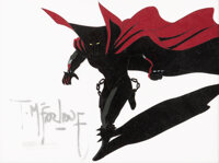 Todd McFarlane's Spawn Spawn Production Cel Signed by Todd McFarlane (HBO, c. 1997-99)