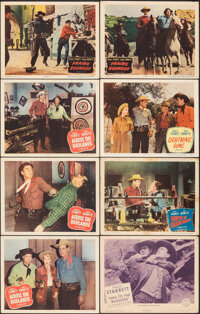 "Across the Badlands & Other Lot (Columbia, 1950). Fine/Very Fine. Lobby Cards (27) (11"" X 14""). Western..."