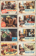"Movie Posters:Western, Apache Country & Other Lot (Columbia, 1952). Fine/Very Fine. Lobby Cards (25) (11"" X 14""). Western.. ... (Total: 25 Items)"