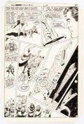 Original Comic Art, Curt Swan and Murphy Anderson Superman Annual #10 Story Page 38 Original Art (DC Comics, 1984)....