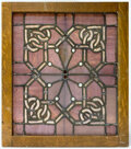 Glass, Louis H. Sullivan (American, 1856-1924). Window from the Main Dining Room of the Auditorium Hotel, circa 1886-1889, Adle...