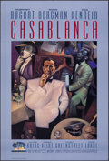 """Movie Posters:Academy Award Winners, Casablanca (Turner Entertainment, R-1992). Rolled, Very Fine. 50th Anniversary One Sheet (27"""" X 40"""") SS, Gary Kelley Artwork..."""