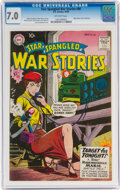 Silver Age (1956-1969):War, Star Spangled War Stories #86 (DC, 1959) CGC FN/VF 7.0 Off-white pages....
