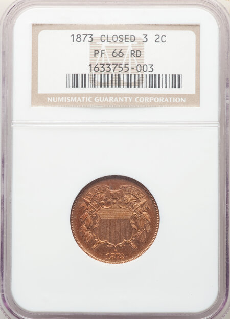 1873 2C CLOSED 3, RD 66 NGC