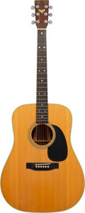Musical Instruments:Acoustic Guitars, 1976 Martin Bicentennial D-35 Natural Acoustic Guitar, Serial #0152.. ...