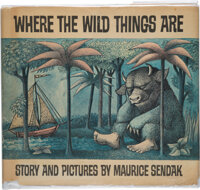 Maurice Sendak. Where the Wild Things Are. New York: Harper & Row, 1963. First edition, first p