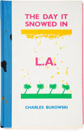 Books:Signed Editions, Charles Bukowski. The Day It Snowed in L.A.: The Adventures of Clarence Hiram Sweetmeat.. Sutton West & Sant...