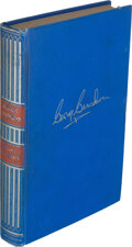 Books:Signed Editions, [George Gershwin]. Isaac Goldberg. George Gershwin: A Study in American Music. New York: Simon and Schuster, 193...
