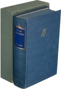 Ayn Rand. Atlas Shrugged. New York: Random House, 1967. Special 10th Anniversary edition, #1,78