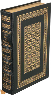 Nelson Mandela. Long Walk to Freedom. Norwalk: The Easton Press, [1994]. Collector's Edition. <