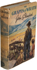 Books:Signed Editions, John Steinbeck. The Grapes of Wrath. Garden City, New York: Sun Dial Press, 1941. Reprint of first edition of 19...