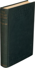 Books:Literature 1900-up, F. Scott Fitzgerald. The Great Gatsby. New York: Charles Scribner's Sons, 1925. First edition, first printing....