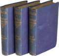 Books:Mystery & Detective Fiction, Victor Hugo. Les Misérables. London: Hurst and Blackett, 1862. First authorized English edition.... (Total: 3 )