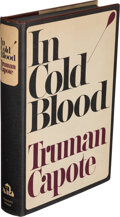 Books:Mystery & Detective Fiction, Truman Capote. In Cold Blood. A True Account of a Multiple Murder and Its Consequences. New York: Random House, ...