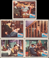"Thieves' Highway (20th Century Fox, 1949). Overall: Very Fine. Lobby Cards (5) (11"" X 14""). Film Noir. ... (To..."