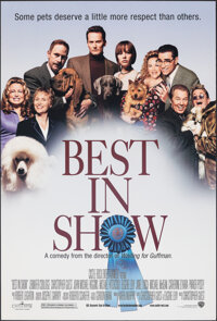 """Best in Show & Other Lot (Warner Bros., 2000). Rolled, Very Fine+. One Sheets (2) (27"""" X 40"""") DS. Comedy..."""