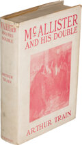Books:Mystery & Detective Fiction, Arthur Train. McAllister and his Double. New York: Charles Scribner's Sons, 1905. First edition of the author's firs...