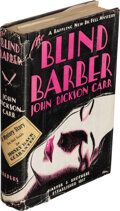 Books:Mystery & Detective Fiction, John Dickson Carr. The Blind Barber. New York: Harper & Brothers, 1934. First edition. ...
