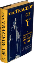 Books:Mystery & Detective Fiction, [Ellery Queen, pseudonym]. Barnaby Ross. The Tragedy of Y. A Drury Lane Mystery. New York: Viking Press, 1932. F...