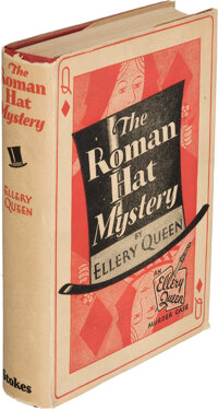 Ellery Queen [pseudonym of Frederic Dannay and Manfred Bennington Lee]. The Roman Hat Murder. N
