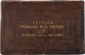 Books:Americana & American History, [Bible in English]. [Overland Mail Company Bible]. The Holy Bible, Containing the Old and New Testaments, Tran...