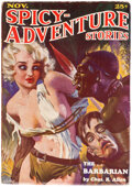 Pulps:Adventure, Spicy Adventure Stories - November 1934 (Culture) Condition: FN/VF....