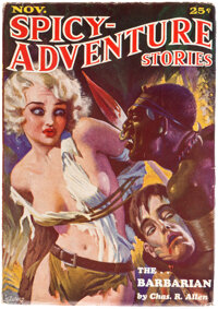 Spicy Adventure Stories - November 1934 (Culture) Condition: FN/VF