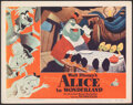 "Movie Posters:Animation, Alice in Wonderland (RKO, 1951). Very Fine. Lobby Card (11"" X 14""). Animation.. ..."