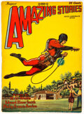 Pulps:Science Fiction, Amazing Stories - August 1928 (Ziff-Davis) Condition: FN....