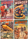 Pulps:Science Fiction, Thrilling Wonder Stories Box Lot (Standard, 1936-50) Condition: Average VG....