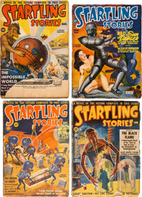 Startling Stories Complete Run Box Lot (Standard, 1939-55) Condition: Average VG