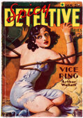 Pulps:Detective, Spicy Detective Stories - January 1936 (Culture) Condition: VG+....