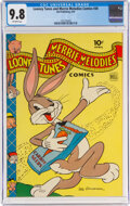 Golden Age (1938-1955):Cartoon Character, Looney Tunes and Merrie Melodies Comics #30 (Dell, 1944) CGC NM/MT 9.8 Off-white pages....