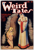 Pulps:Horror, Weird Tales - January 1934 (Popular Fiction) Condition: FN....
