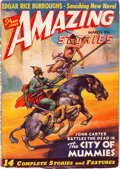 Pulps:Science Fiction, Amazing Stories - March 1941 (Ziff-Davis) Condition: VG....