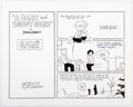 """Original Comic Art:Complete Story, Jim Gownley Peanuts: A Tribute to Charles M. Schulz """"A Dark and Snowy Night"""" Complete 10 Page Story and Other Illu... (Total: 13 Original Art)"""