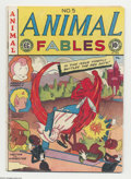 Golden Age (1938-1955):Funny Animal, Animal Fables #5 (EC, 1947) Condition: VG+. Fat and Slat, FreddyFirefly, and Hector the Inspector are featured. Artists inc...